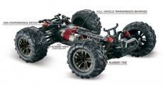 1:16 Green Power Elektro Modellauto High Speed Sand Buggy X TRUCK schwarz/rot 4WD RTR 16005