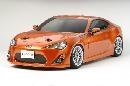 Karosseriesatz unlackiert 1:10 Tamiya Toyota 86 # 300051494
