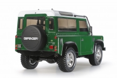 Karosseriesatz  unlackiert Tamiya 1:10 Land Rover Defender 90 # 300051607