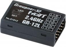 Graupner MZ-12 Pro HoTT Sender mit GR12L Empfänger #S1002.Pro
