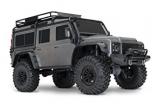 TRAXXAS TRX-4 Land Rover Crawler silber/schwarz 1/10 Crawler 2.4GHz (Link-fähig) ohne Akku, ohne Lader