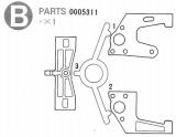 Motorhalterung  Formel 1 B1-B3 #0005311