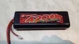 Robitronic Lipo Stick Pack Akku 7,4 Volt 40 C T-Stecker 4200 mah
