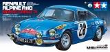 Tamiya Renault Alpine A110 Monte 1971 M-06 Baukasten #300058591 58591