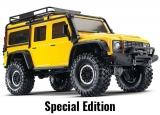 TRAXXAS TRX-4 Land Rover Crawler Gelb 1/10 Crawler 2.4GHz ohne Akku, ohne Lader