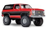 TRAXXAS TRX-4 CHEVY BLAZER 4X4 Rot RTR OHNE AKKU/LADER 1/10 4WD SCALE-CRAWLER #TRX82076-4RED