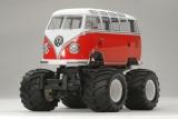 Karosseriesatz unlackiert Tamiya 1:12  VW Type-2 T1 Bus # 300051475