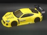 Ride M-Chassis Subaru BRZ Race Car Concept Gelbe Karosserie   # 27028 RI-27028