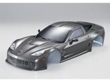 Killerbody Corvette GT2 190mm, Silber-Grau fertig lackiert # KB48018