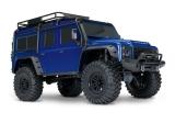 TRAXXAS TRX-4 Land Rover Crawler blau met. 1/10 Crawler 2.4GHz (Link-fähig) ohne Akku, ohne Lader TRX82056-4BLUE