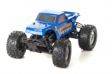 Amewi 1:8 Monstertruck Raptor-E Brushless in Schwarz - Blau 22091