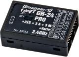 Graupner Empfänger Hott GR-24 Pro 3XG ++3A +3M + Vario #33583