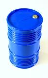 1:10 Öltank Ölfass Kunststoff Blau groß Crawler Dachgepäck #2320082