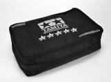 Die Transporttasche in TAMIYA World Champion Team-Design.