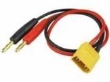 XT 90 Ladekabel Silicon Kabel 4mm Gold Banane