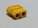 XT60 ( Gelb ) Buchse ( Akkuseite ) zum verlöten Gold