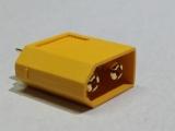 XT60 ( Gelb ) Stecker ( Regler/Lader ) zum verlöten Gold