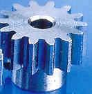 Motorritzel Stahl Modul 0,4 bzw 64 dp Welle 3.17mm / 20-51 Zähne