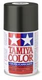 Tamiya Lexanfarbe PS23 gun metal. 100 ml